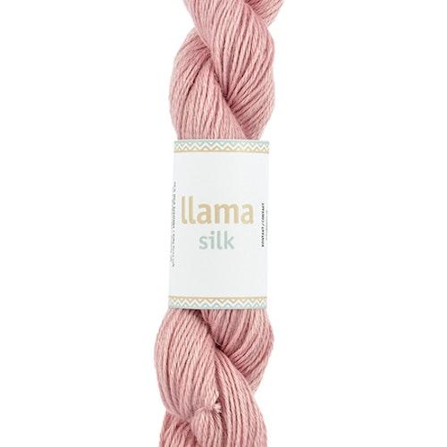 Llama Silk, Powder Pink