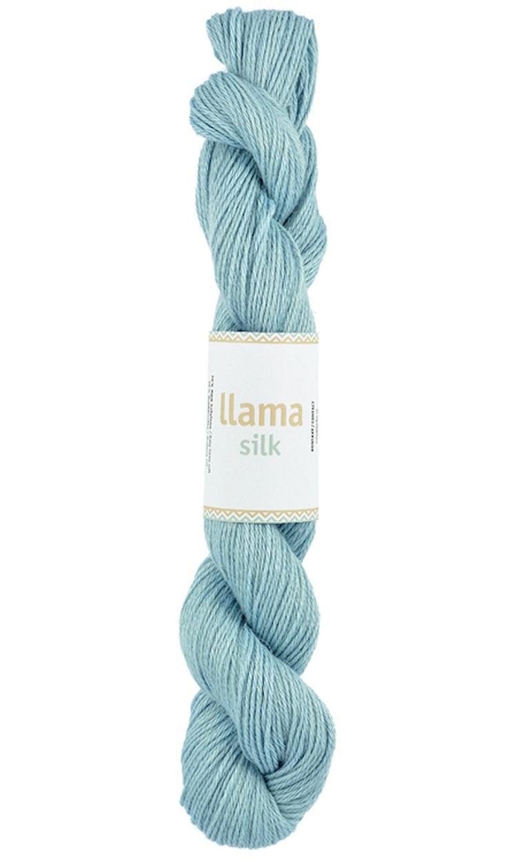 Llama Silk, Baby Blue