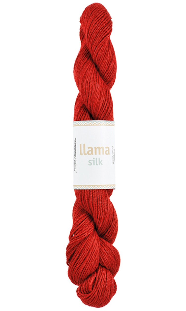 Llama Silk, Warm red