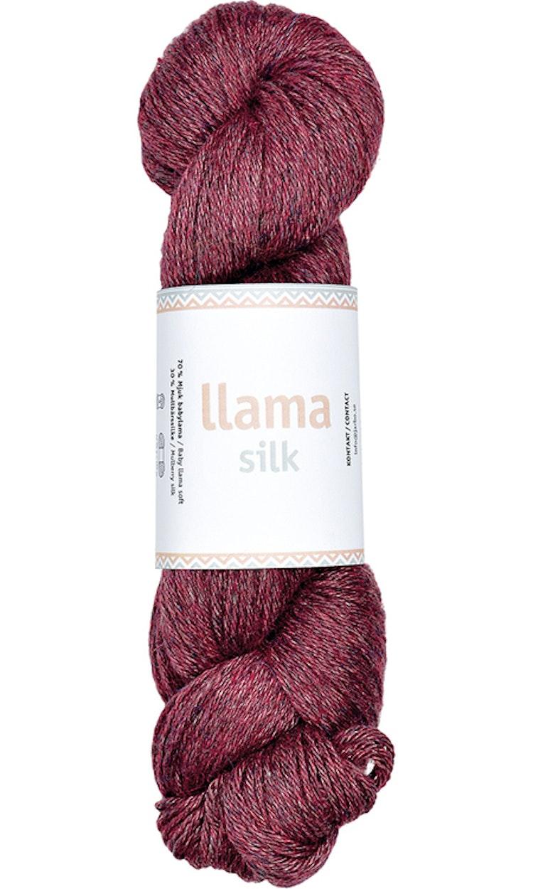 Llama Silk, Purple violet