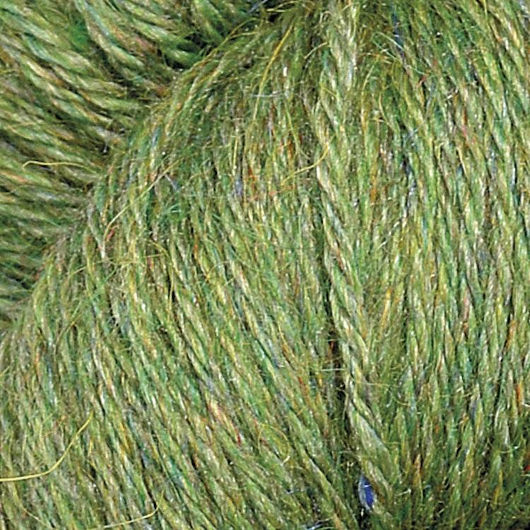 Llama Silk,  Leaf green