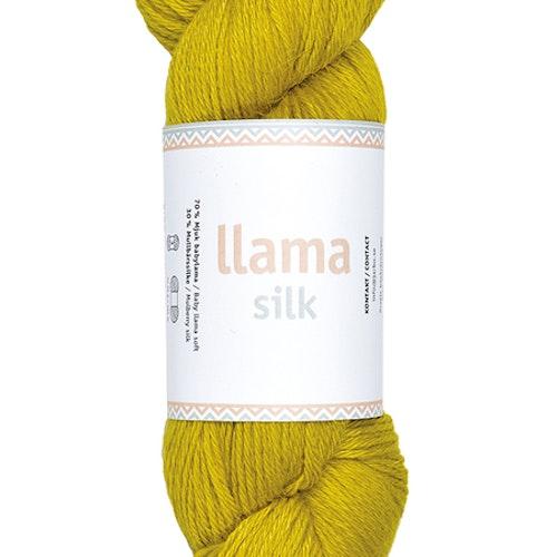 Llama Silk, Lime yellow