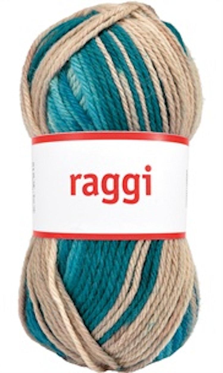 Raggi, Beige / Mint Batik