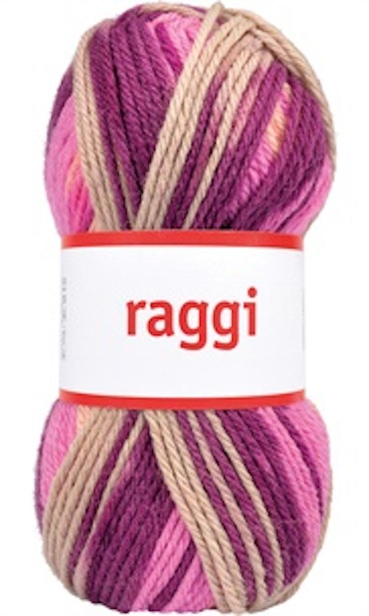 Raggi, Beige / Violet Batik