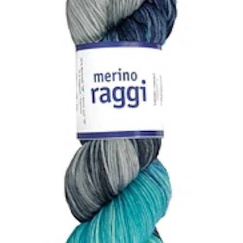 Merino Raggi, Lagoon Blue  & Lavendel