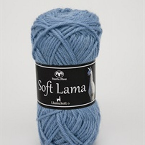 Soft Lama Ljusblå
