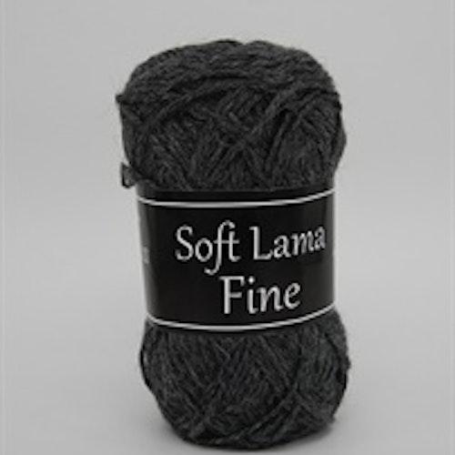 Soft Lama Fine Mörkgrå