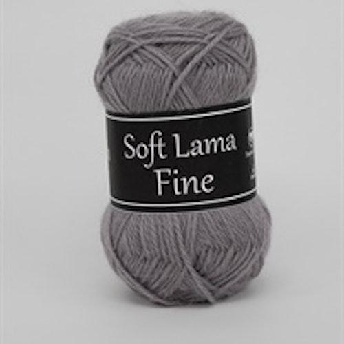 Soft Lama Fine Grå