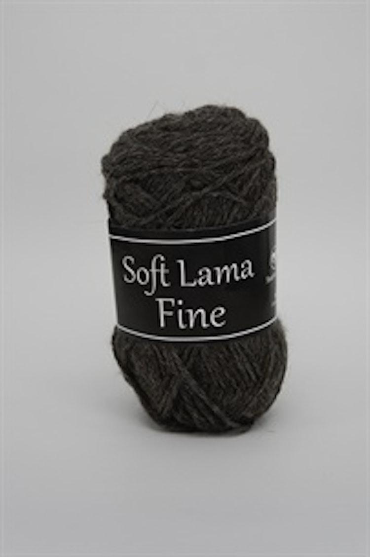 Soft Lama Fine Gråbrun