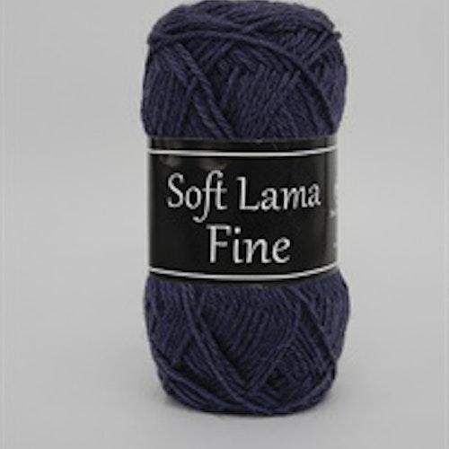 Soft Lama Fine Mörklila