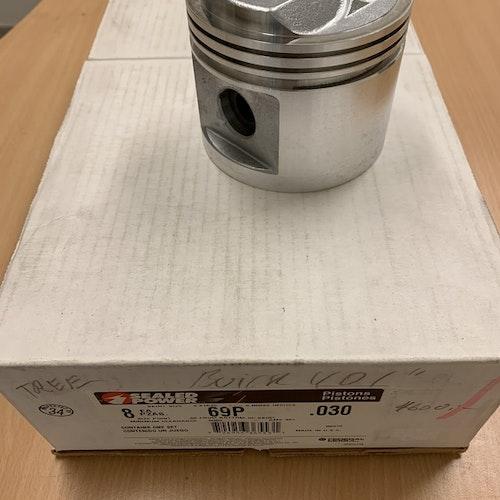 Kolvsats L 2078 030 tum överdimension 1959/66 401 cui