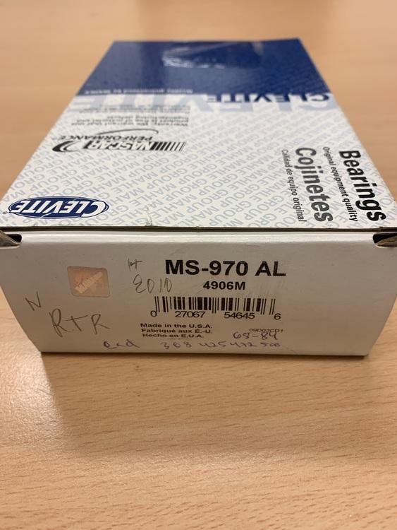 Ramlagersats MS 970AL STD 425,472,500