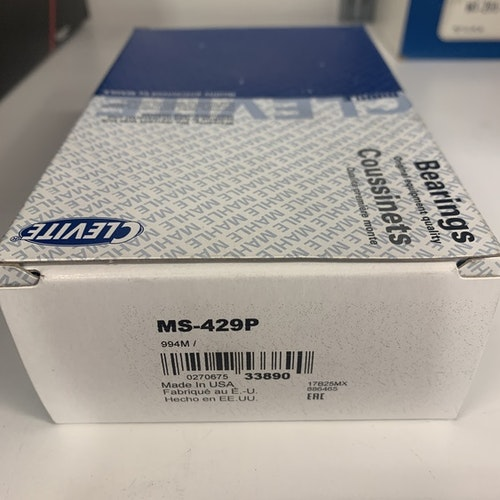Ramlagersats MS 429P STD, 1957/67 283,302,327