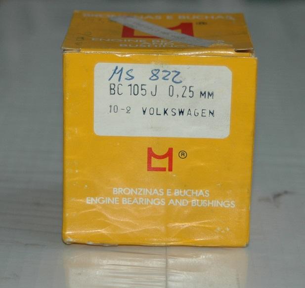 Ramlagersats BC 105 J 0,25 1960/76 Typ I,II,III