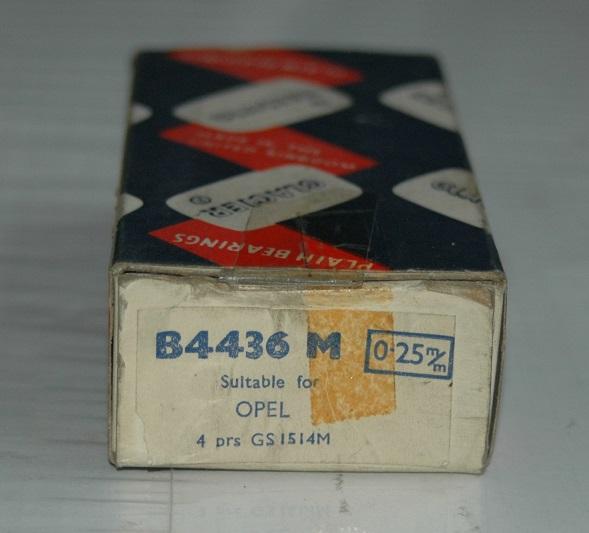 Vevlagersats B 4436 M 0,25 1953/59 Olympia,Rekord