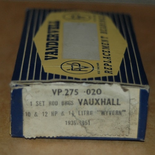 Vevlagersats VP 275 020 1938/52 10HP,12HP,Wyvern
