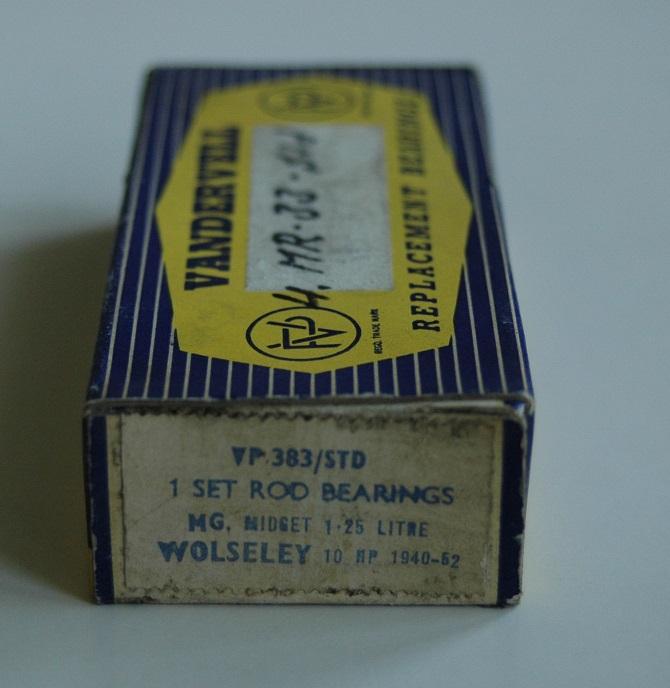 Vevlagersats VP 383 STD 1939/57 MG,Morris,Wolseley