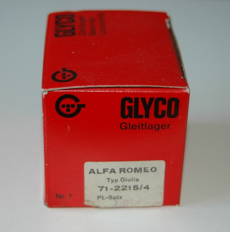 Vevlagersats 71-2215 040 1962/70 1600 Guilia, 1750