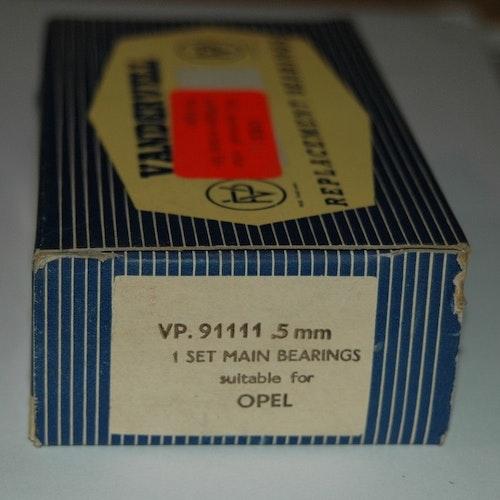 Ramlagersats VP 91111 0,50 1963/66 Rekord,Kaptän