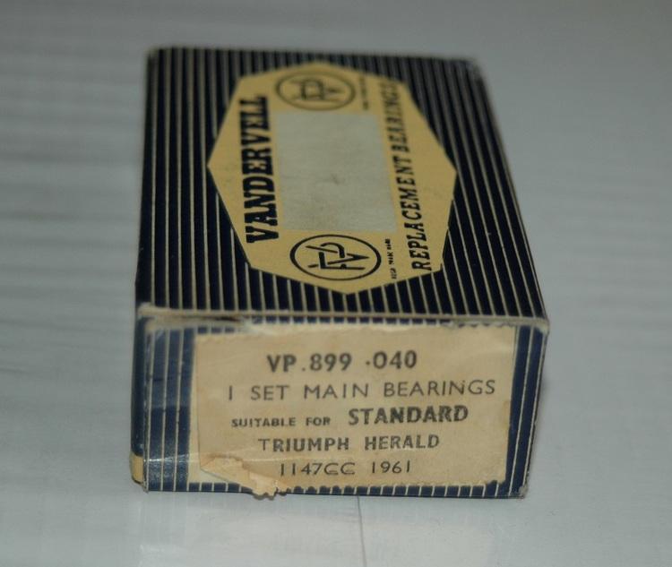Ramlagersats VP 899 040 1961/70 Herald, Spitfire