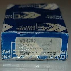 Ventiler avgas sats TV 34709 1972/76 99 2,0 LIT.