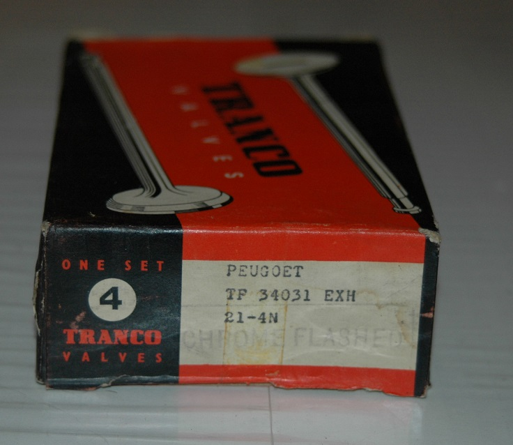Ventiler Avgas sats 34031 1963/64 404