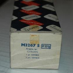 Ramlagersats M 3267 S 0,25 1955/65 ID 19, DS 19
