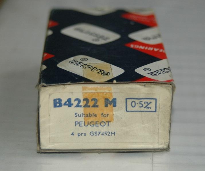 Vevlagersats B 4222 M 0,50 1948/66 203,403