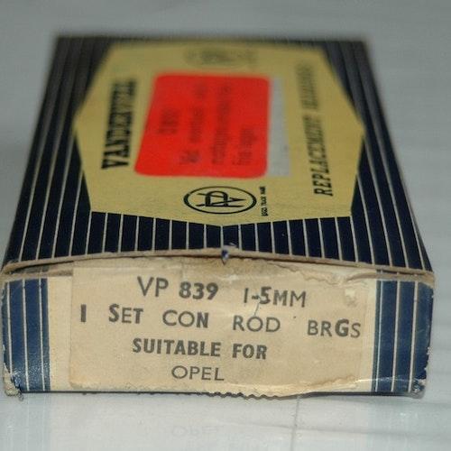 Vevlagersats VP 839 1,50 1959/63 Olympia,Rekord