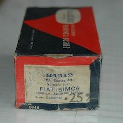 Vevlagersats B 4212 M 0,25 1946/53 1100