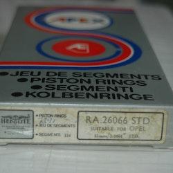 Kolvringssats RA 26066 STD 1970/75 Ascona,  Manta 1,6