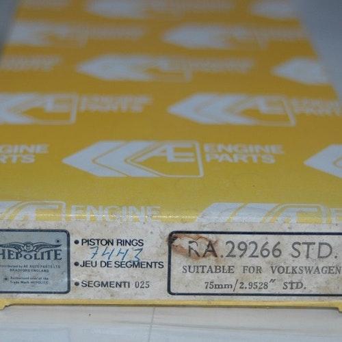 Kolvringssats RA 29266 STD 1973/75 VW/AUDI 1,3