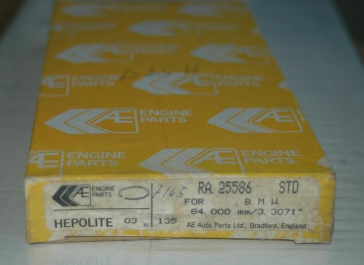Kolvringssats RA 25586 STD 1964/80 1600,316