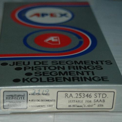 Kolvringssats RA 25346 STD 1971/75 99 1,85 lit.