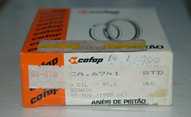 Kolvringssats CA 6741 STD 1972/87 90,99,900