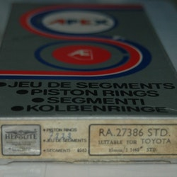 Kolvringssats RA 27386 STD 1972/77 CARINA,CELICA 1,6