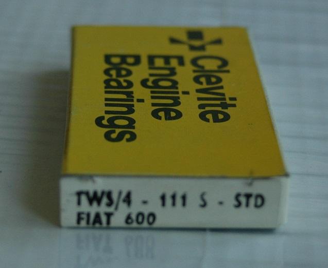 Tryckbrickor sats TW 111S STD 1955/70 600, 600D