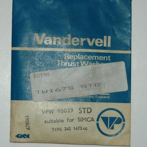Tryckbrickor sats VPW 95029 STD 1963/72 1500,1501