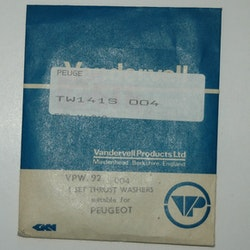 Tryckbrickor sats VPW 92 004 1960/70 404,504