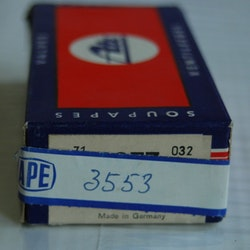Ventiler Insug sats 3553 1960/67 1200 Typ I, II