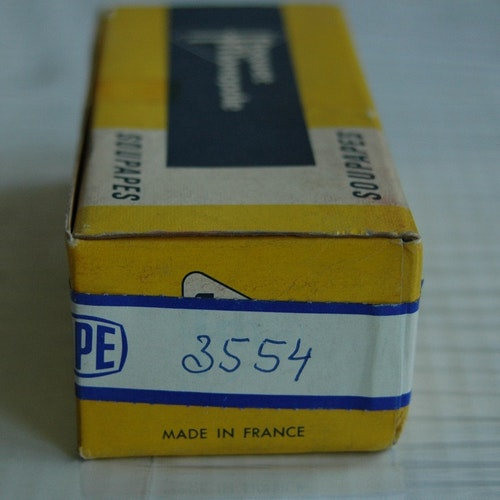 Ventiler Avgas sats 3554 1960/67 1200 Typ I, II