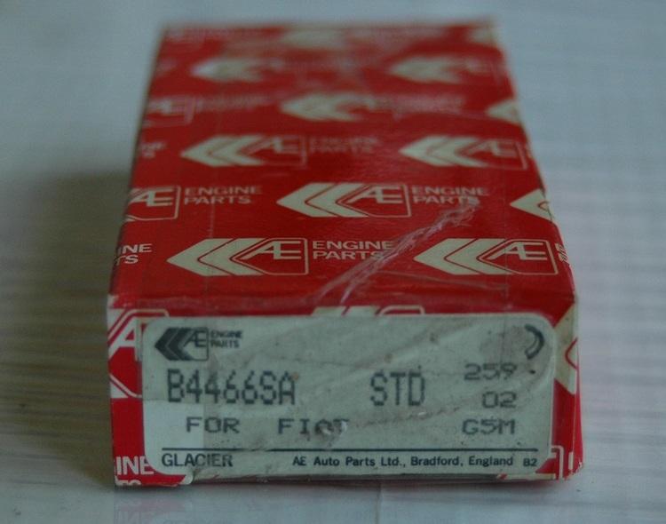 Vevlagersats B 4466SA STD 1966/85 124,128,X 1-9