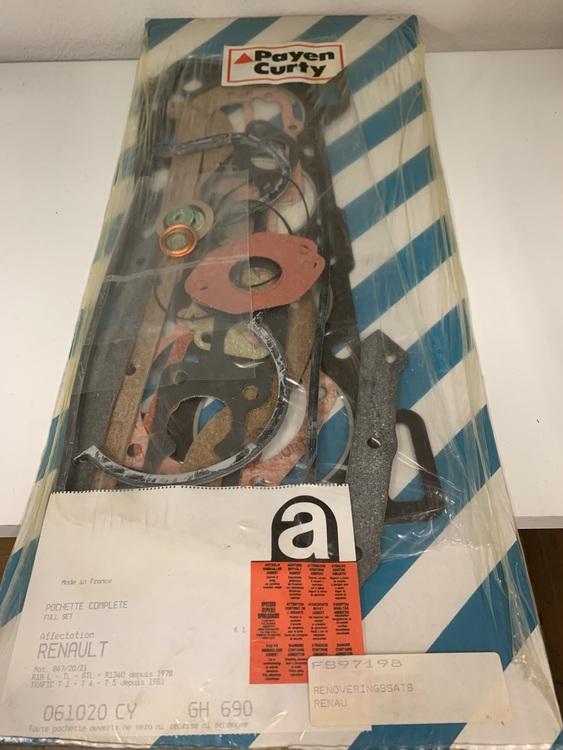 Full Motorsats GH 690 1980/82  R18