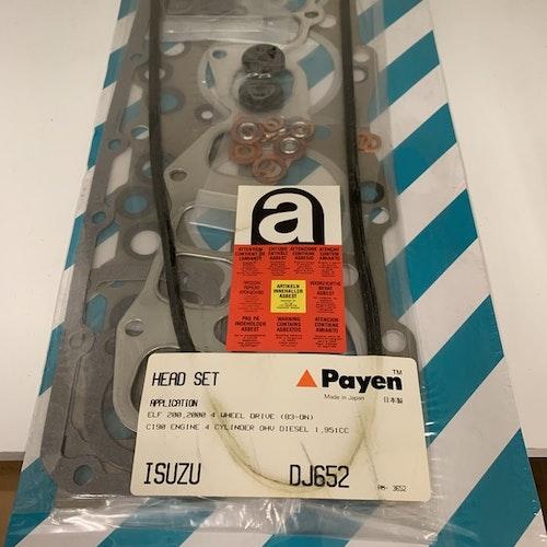 Sotningssats DJ 652 1980/85 Motor C 190 KBD 26, 41