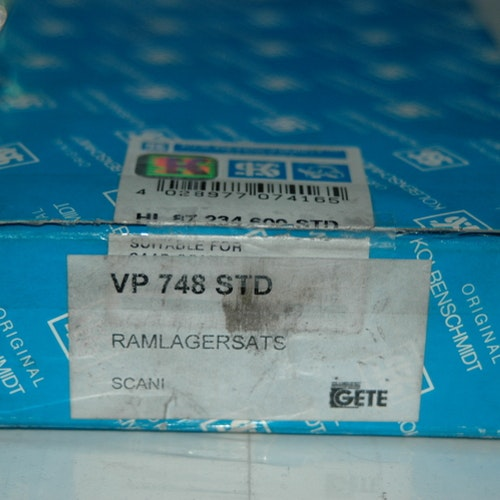 Ramlagersats VP 748 STD 1958/96 D10, D11, DS11