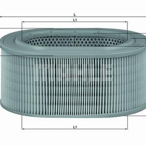 Luftfilter LX 817 1981/88 240Turbo 340,360,