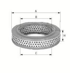 Luftfilter C 2649 1966/77 1502-2002 2500,2800,3,0