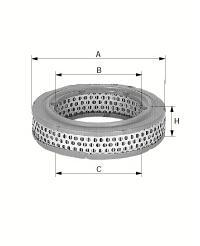 Luftfilter C 4085 1972/77 Commodore GS 2,5H, 2,8H