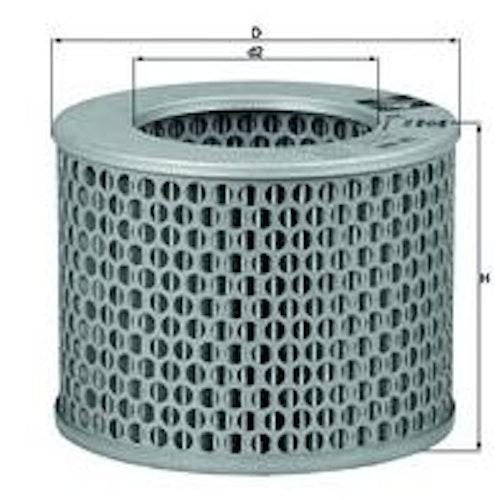 Luftfilter LX 186 1959/65 356B,1600S