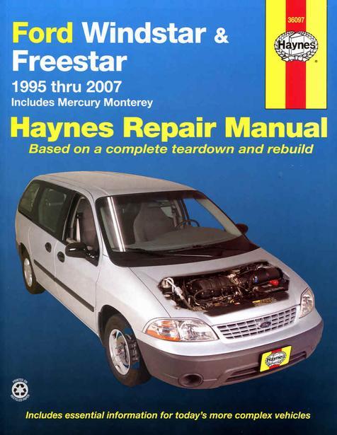 Rep. Handbok Haynes H36097 1995/07 Ford Windstar, Freestar